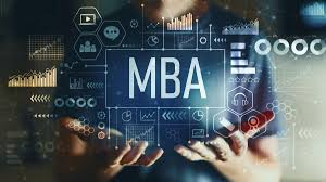 Full form of MBA.