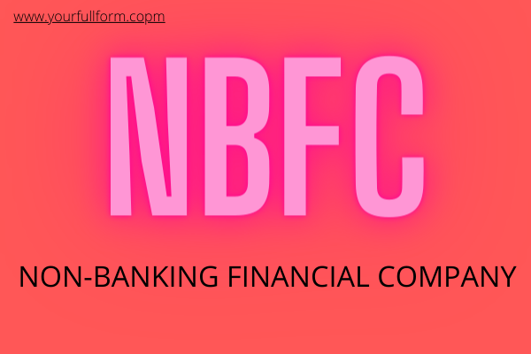 NBFC full form in banking
